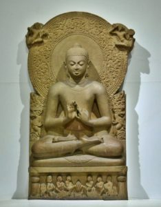 Buddha statue at Sarnath Museum